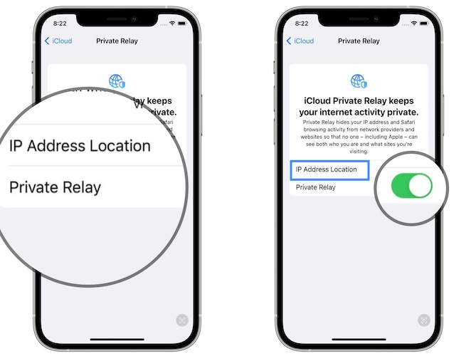 how to enable private relay