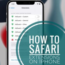 how to use Safari Extensions on iPhone