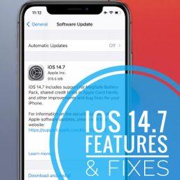 iOS 14.7 Update
