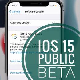 iOS 15 Public Beta Update