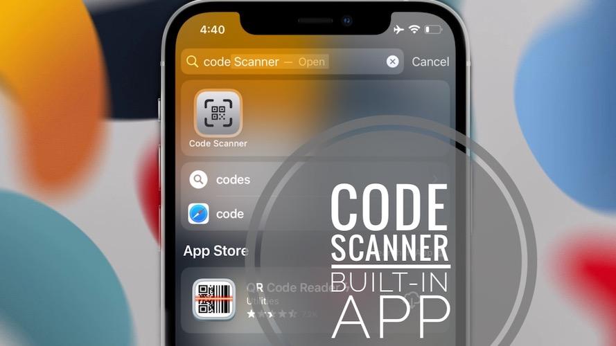 iOS Code Scanner App
