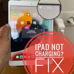 iPad Not Charging when plugged in