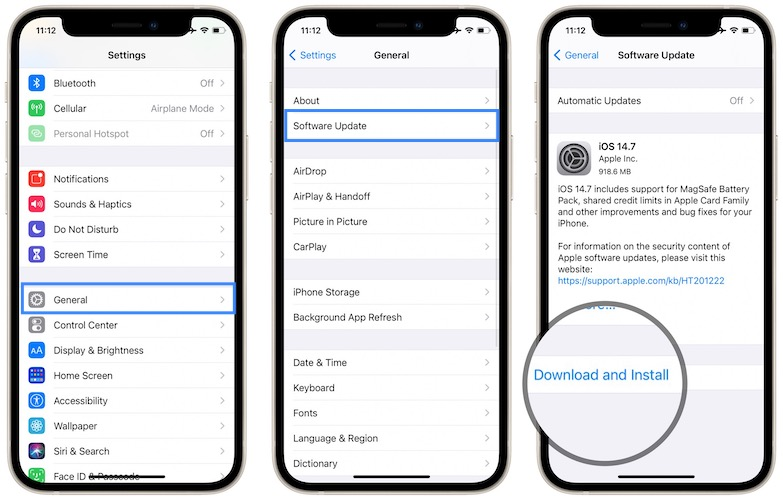 ios 14.7 download