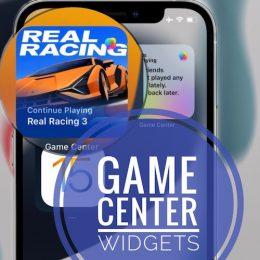 Game Center Widgets