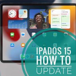 How to update to iPadOS 15