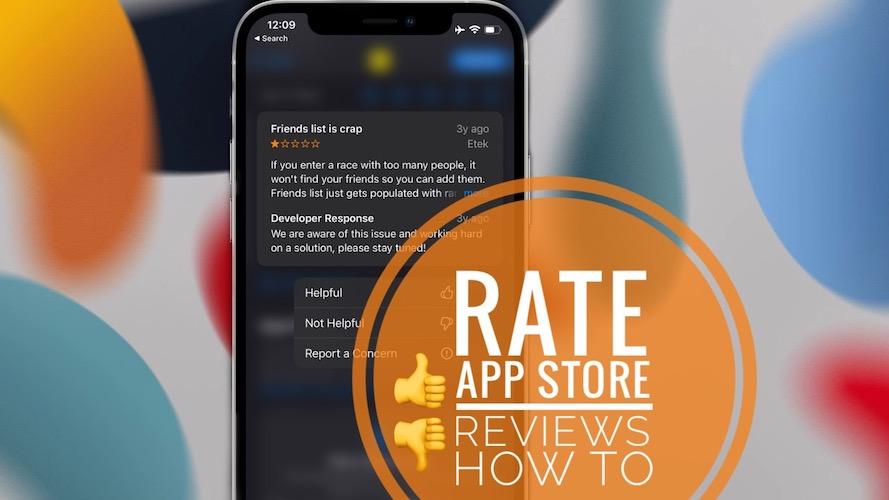 Rate App Store Reviews