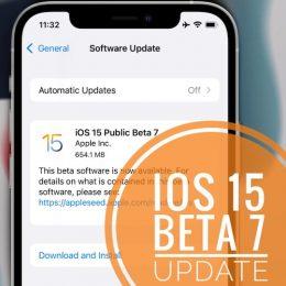 iOS 15 Beta 7