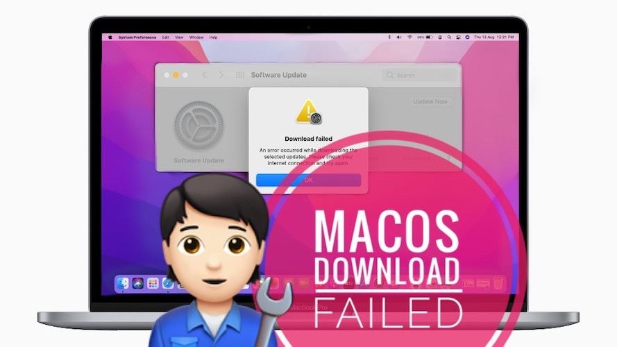 macOS download failed