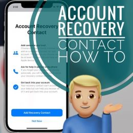 Account Recovery Contact in iOS 15