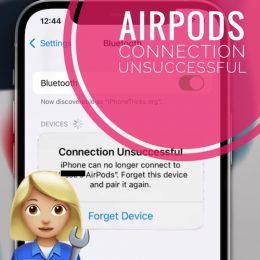 AirPods not connecting to iPhone