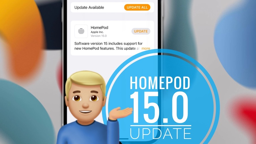 HomePod 15 update