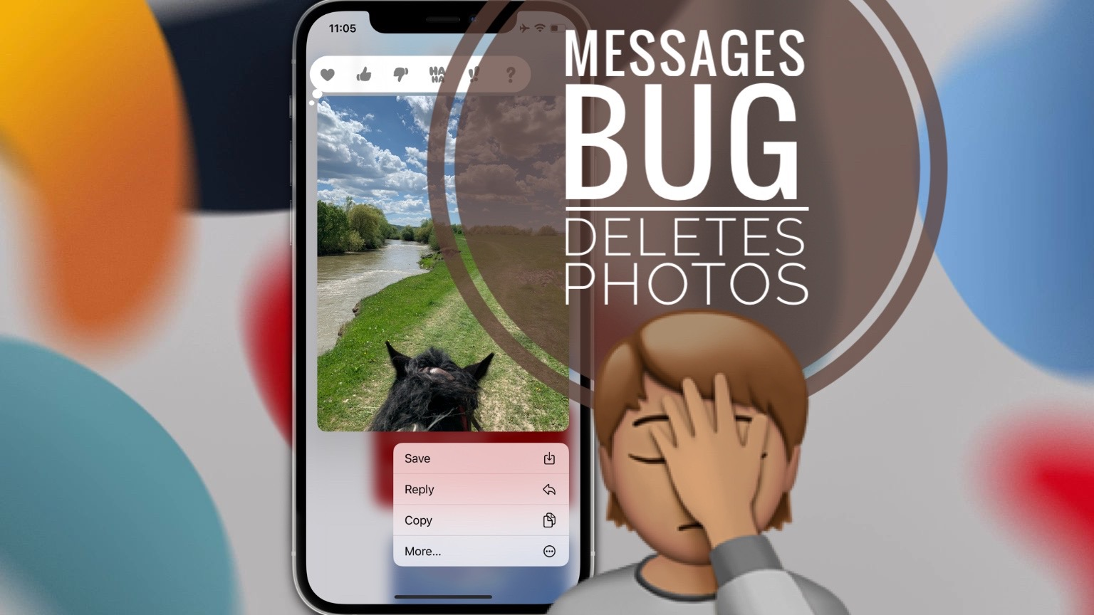 Messages bug deletes Photos in iOS 15