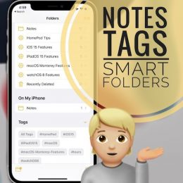 Notes Tags and Smart Folders