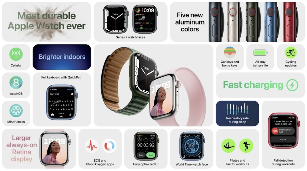 apple watch 7 features