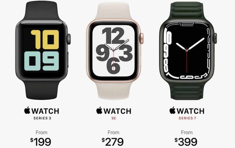 apple watch 7 pricing