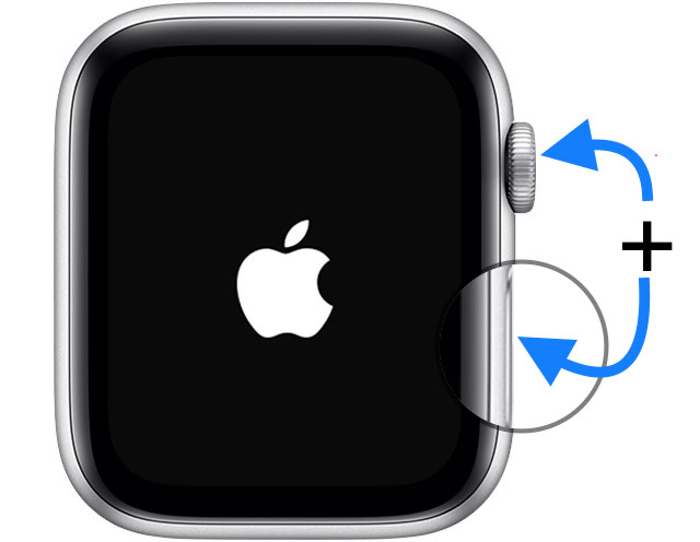how to force restart Apple Watch
