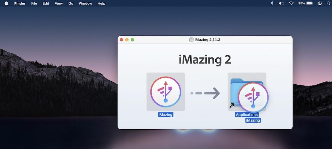 how to install iMazing2 on Mac