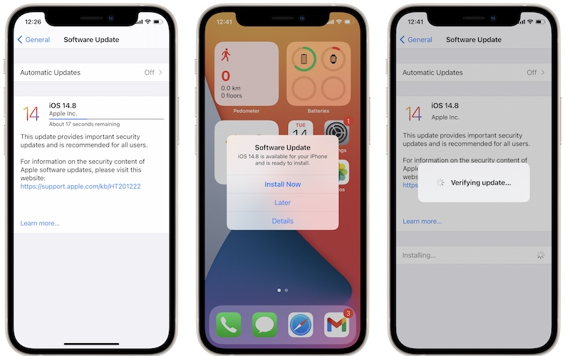 iOS 14.8 download
