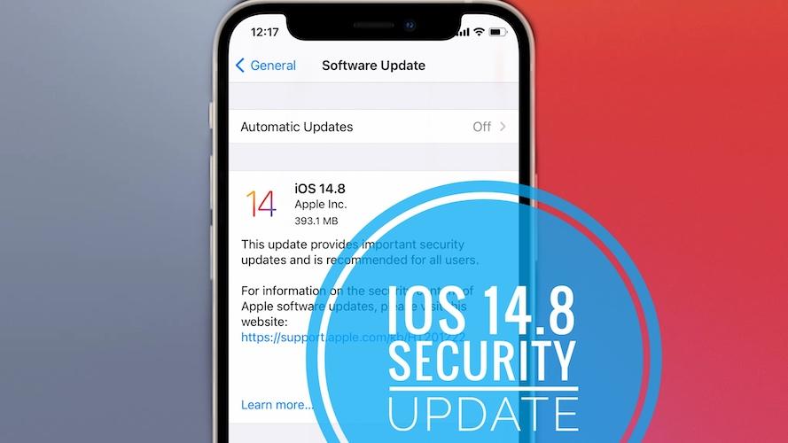 iOS 14.8 update