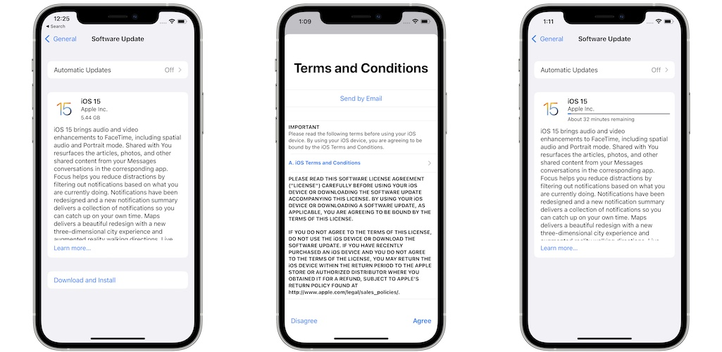 iOS 15 rc download