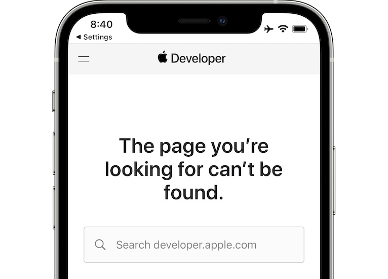 iOS 15.1 Beta 2 release notes not available