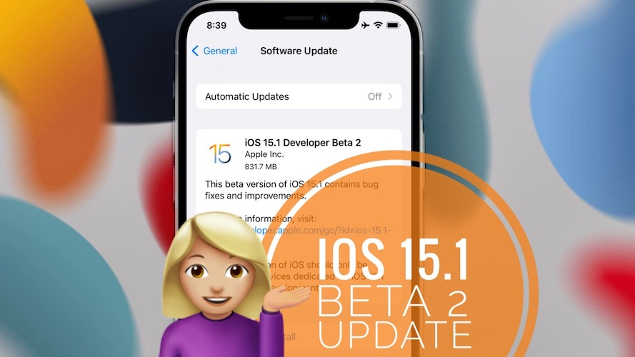iOS 15.1 Beta 2