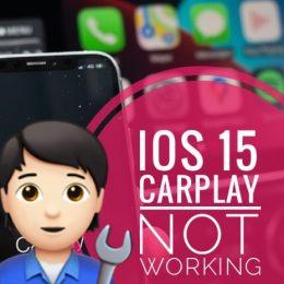 iPhone 13 CarPlay not working