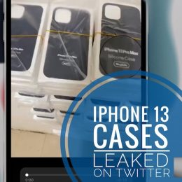 iPhone 13 Pro Max Silicone case leaked on Twitter