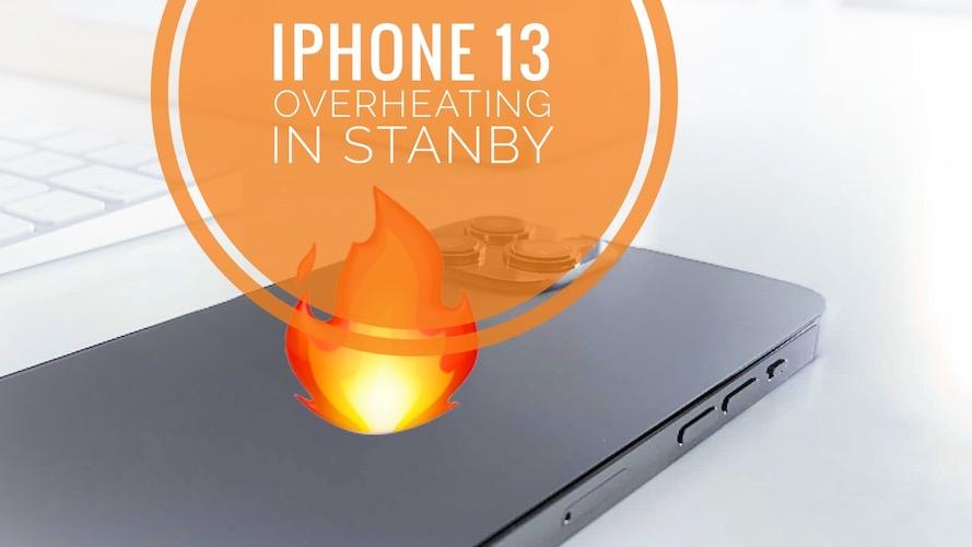 iPhone 13 Pro overheating when locked
