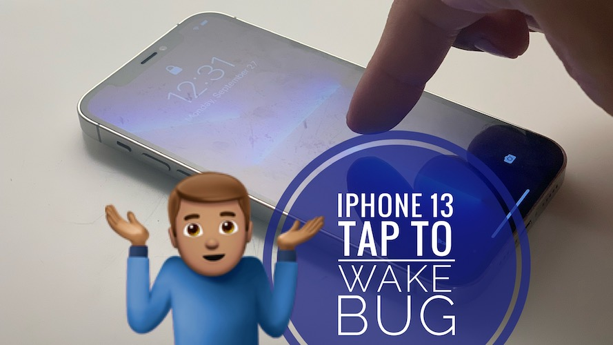 iPhone 13 Pro Tap to Wake