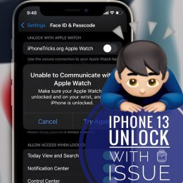 iPhone 13 Unable to communicate with Apple Watch