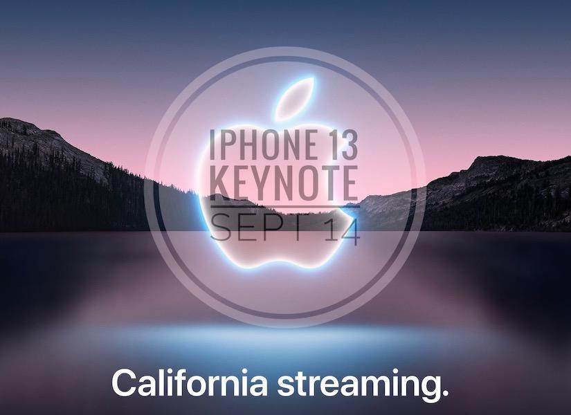 iPhone 13 keynote art