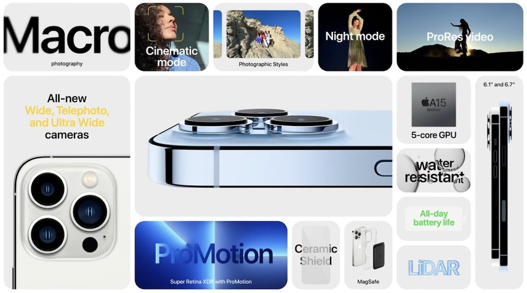 iPhone 13 pro features
