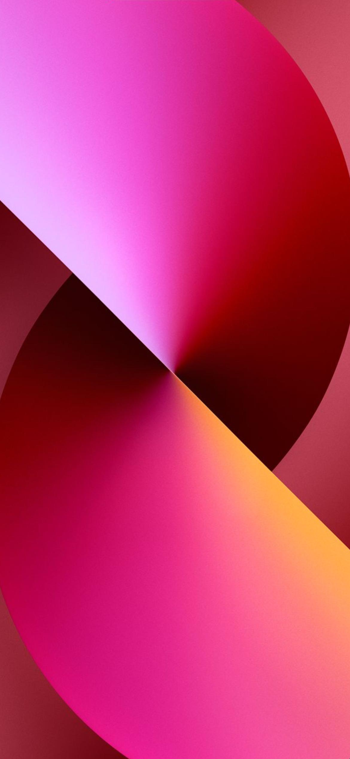 iPhone 13 wallpaper dark pink