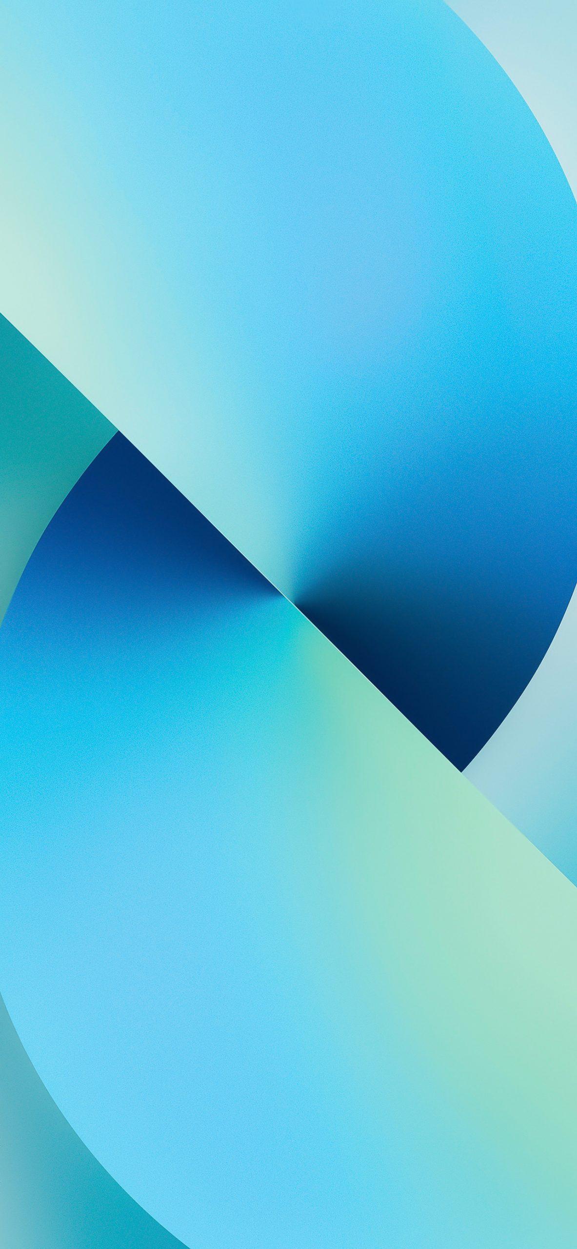 iPhone 13 wallpaper light blue
