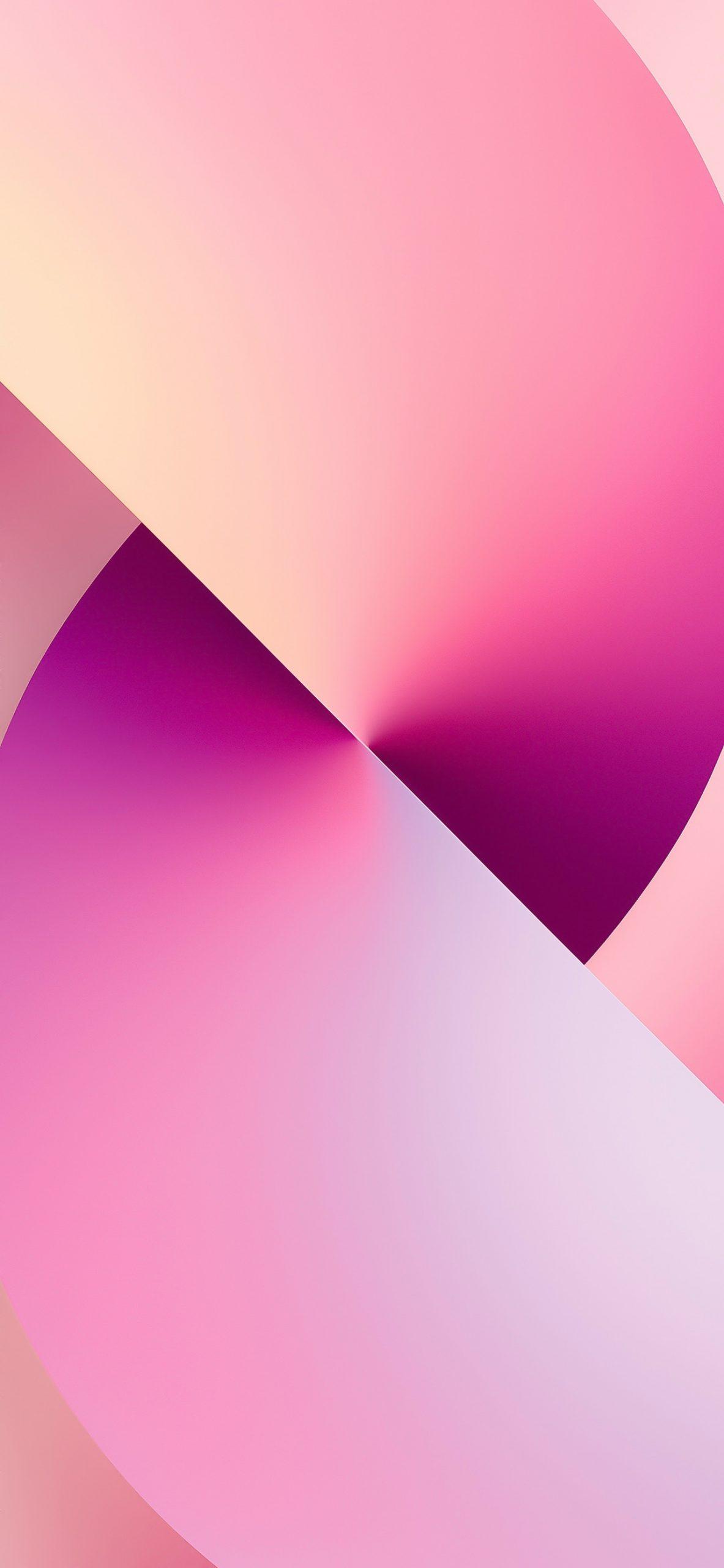 iPhone 13 wallpaper light pink