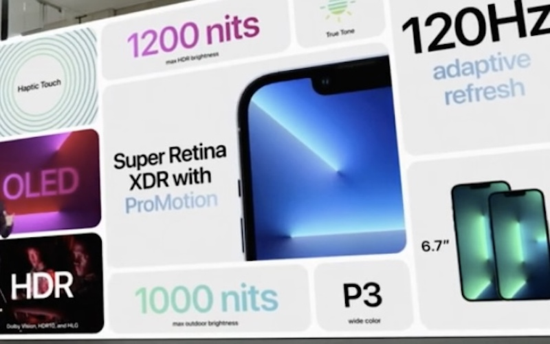 iphone 13 pro display features