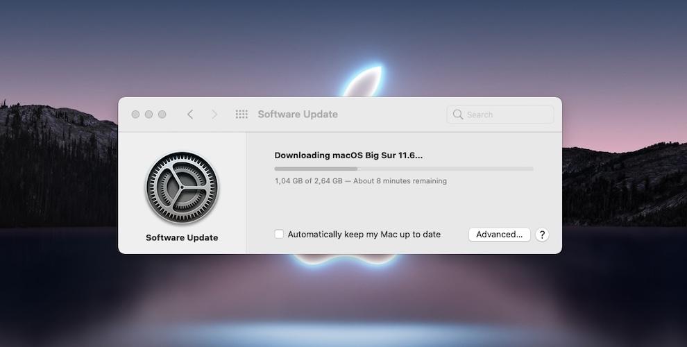 macOS Big Sur 11.6 download