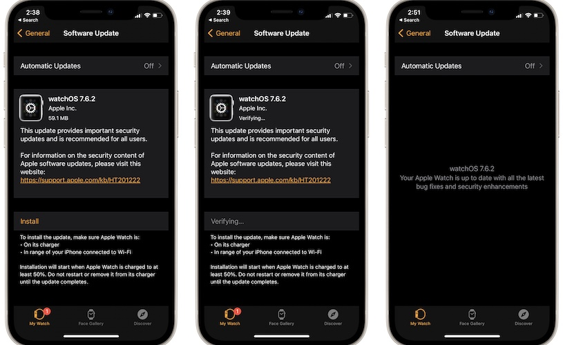 watchOS 7.6.2 download