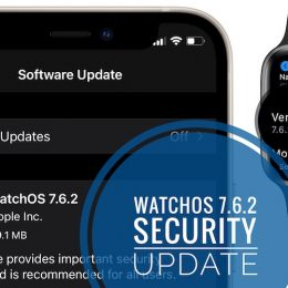 watchOS 7.6.2 update