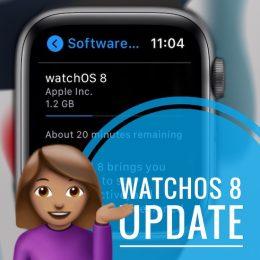 watchOS 8 update