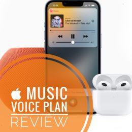 Apple Music voice plan