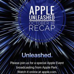 Apple Unleashed Event recap