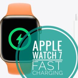 Apple Watch 7 fast charging