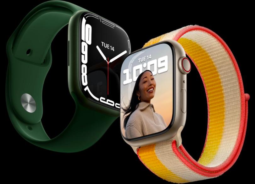 Apple Watch Series 7 image in iOS 15.1