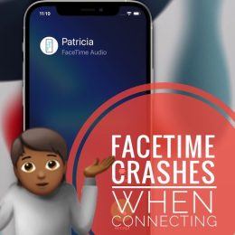 FaceTime crashes when connecting