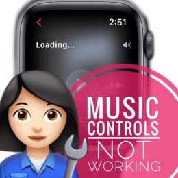 Music controls not working in watchOS 8