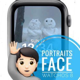 Portraits Watch Face on Apple Watch