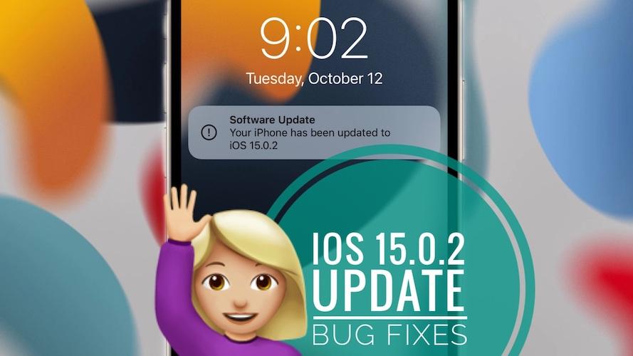 iOS 15.0.2 update
