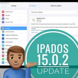 iPadOS 15.0.2 update